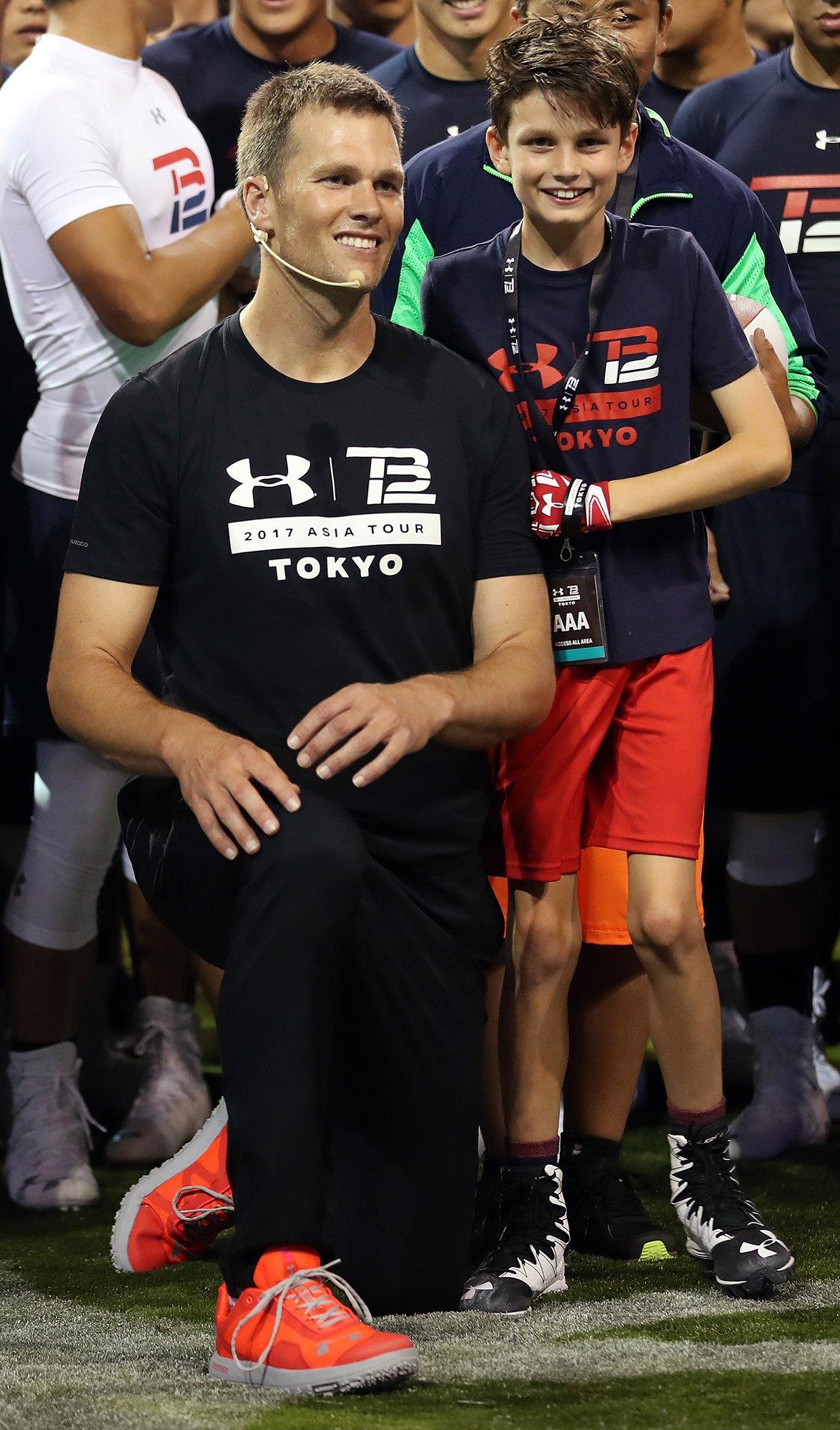 Brady kids tom Tom Brady